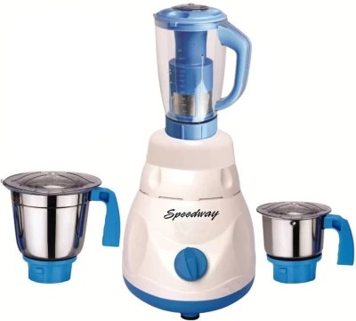 speedway Latest Jar attachments of chutney medium & juicer jarType-659 1000 W Juicer Mixer Grinder(Multicolor, 3 Jars)