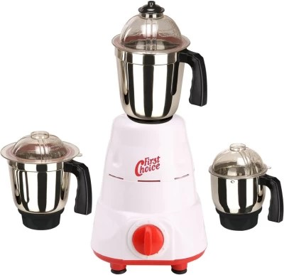 First Choice FC-MG16 18 600 W Mixer Grinder(Red, 3 Jars)