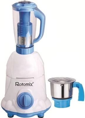 Rotomix Latest Jar attachments of chutney & juicer jarType-211 750 W Juicer Mixer Grinder(Multicolor, 2 Jars)
