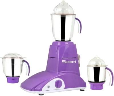 Sunmeet SM-MG16 95 750 W Mixer Grinder(Violet, 3 Jars)