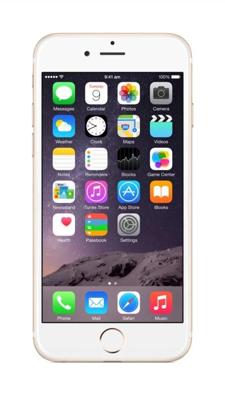 Apple iPhone 6 (Gold, 64 GB)(1 GB RAM)