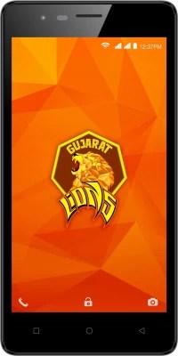 Intex Aqua Lions 4G (Black and Grey, 8 GB)(1 GB RAM)