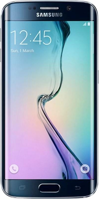 SAMSUNG Galaxy S6 Edge (Black Sapphire, 32 GB)(3 GB RAM)