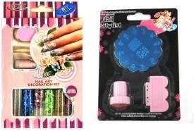 Iris 7 Nail Art Decoration Kit And Sting Bo