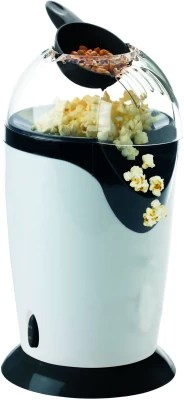 Shrih Portable Aluminum SH-03308 0.7 L Popcorn Maker(Black, Silver)