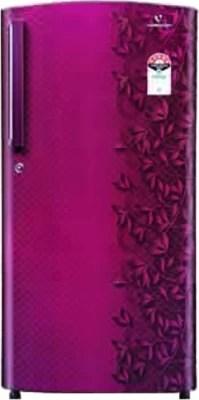 Videocon 215 L Direct Cool Single Door Refrigerator(VZ225PTC, Dark Pink)