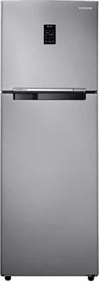 SAMSUNG 321 L Frost Free Double Door Refrigerator(RT33JSRZESP/TL, Platinum Inox)
