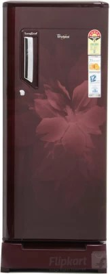 Whirlpool 200 L Direct Cool Single Door Refrigerator(215 IMFRESH ROY 5S, Wine Regalia, 2016)
