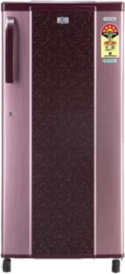 Videocon 190 L Direct Cool Single Door Refrigerator(VC205PT, Dual Tone Leaf - Red)