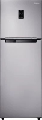 SAMSUNG 345 L Frost Free Double Door Refrigerator(RT37K3753SA, Metal Graphite)