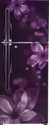 LG 284 L Frost Free Double Door Refrigerator(GL-I302RPOL, Purple Orchid)