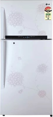 LG 420 L Frost Free Double Door Refrigerator(GL-M472GPHM(BW), Bouquet White)