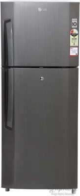 LG 240 L Frost Free Double Door Refrigerator(GL-B252VLGY, Neo Inox)