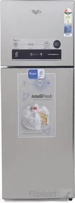 Whirlpool 340 L Frost Free Double Door Refrigerator(PRO 355 ELT 2S, Real Steel, 2016)