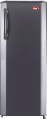 LG 270 L Direct Cool Single Door Refrigerator(GL-B281BTNN, Titanium, 2016)