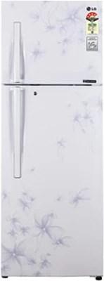 LG 335 L Frost Free Double Door Refrigerator(GL-P372JDWL, Daffodil White)