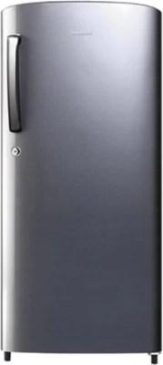 SAMSUNG 192 L Direct Cool Single Door Refrigerator(RR19K172ZS8, Elegant Inox)