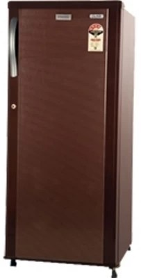 Electrolux 190 L Direct Cool Single Door Refrigerator(REF EBP203BS-FDA, Burgundy Stripes)