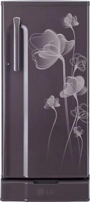 LG 190 L Direct Cool Single Door Refrigerator(GL-D205KGHN, Graphite Heart)