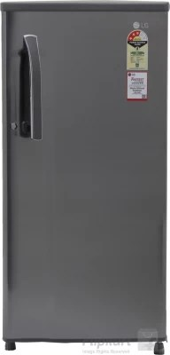 LG 188 L Direct Cool Single Door Refrigerator(GL-B191KPZQ, Shiny Steel, 2016)