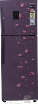 SAMSUNG 253 L Frost Free Double Door Refrigerator(RT28K3953PZ, Tender Lily Purple, 2016)