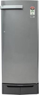 Electrolux 245 L Direct Cool Single Door Refrigerator(EN255LSCSV, Silver VCM, 2016)