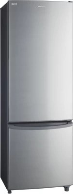 Panasonic 342 L Frost Free Double Door Refrigerator(NR-BR347VSX1, Shining Silver, 2016)