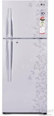 LG 258 L Frost Free Double Door Refrigerator(GL-D292RPJL, Silk Gardenia)