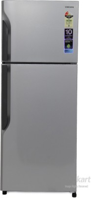 SAMSUNG 255 L Frost Free Double Door Refrigerator(RT26H3000SE, Elective Silver)