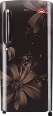 LG 190 L Direct Cool Single Door Refrigerator(GL-B201AHAN, Hazel Aster, 2016)