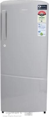 SAMSUNG 212 L Direct Cool Single Door Refrigerator(RR22K242ZSE, Elective Silver)
