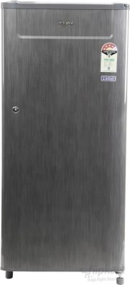 Whirlpool 190 L Direct Cool Single Door Refrigerator(205 GENIUS CLS PLUS 4S, Grey Titanium, 2016)
