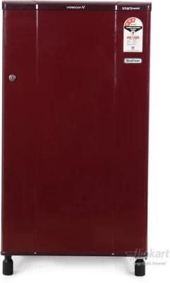 Videocon 150 L Direct Cool Single Door Refrigerator(VAB163, Burgandy Red)