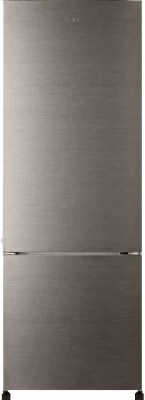 Haier 320 L Frost Free Double Door Refrigerator(HRB-3403BS-H, Brushline Silver)