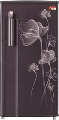 LG 188 L Direct Cool Single Door Refrigerator(GL-B191XGHP, Graphite Heart, 2016)