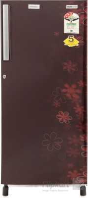 Electrolux 190 L Direct Cool Single Door Refrigerator(EJ203LTEBE, EURO Burgundy Eva, 2016)