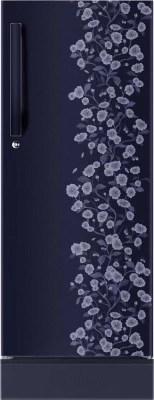 Haier 195 L Direct Cool Single Door Refrigerator(HRD-2157PBD-R, Blue Floral)