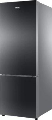 Haier 320 L Frost Free Double Door Refrigerator(HRB-3404PKG-R, Black Glass, 2016)
