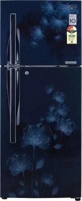 LG 285 L Frost Free Double Door Refrigerator(GL-D302JMFL, Marine Florid)