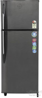 Godrej 260 L Frost Free Double Door Refrigerator(RT EON 260 P 2.3, Silver Strokes)