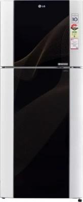 LG 407 L Frost Free Double Door Refrigerator(GL-I442TKRM, Karim)
