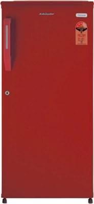 Kelvinator 170 L Direct Cool Single Door Refrigerator(KW183E, Burgundy Red)