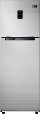 SAMSUNG 345 L Frost Free Double Door Refrigerator(RT37K37647E, Fair Isle)