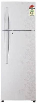 LG 285 L Frost Free Double Door Refrigerator(GL-D302RPJL, Pearl Gardenia)