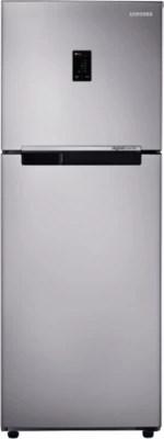 SAMSUNG 321 L Frost Free Double Door Refrigerator(RT34K3743SA, Metal Graphite)
