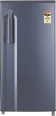 LG 190 L Direct Cool Single Door Refrigerator(GL-B205KDGL, Dim Grey)