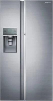 SAMSUNG 838 L Frost Free Side by Side Refrigerator(RH77J90407H/TL, Platinum Inox)