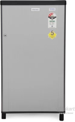 Electrolux 150 L Direct Cool Single Door Refrigerator(EB163P/EJ163PT, Silver Hairline/Silver VCM, 2016)