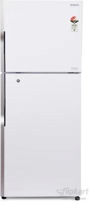 Hitachi 451 L Frost Free Double Door Refrigerator(R-V470PND3K, White)