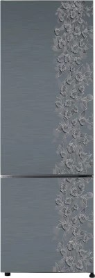 Haier 345 L Frost Free Double Door Refrigerator(HRB-3653CGI-R, Grey Floral)